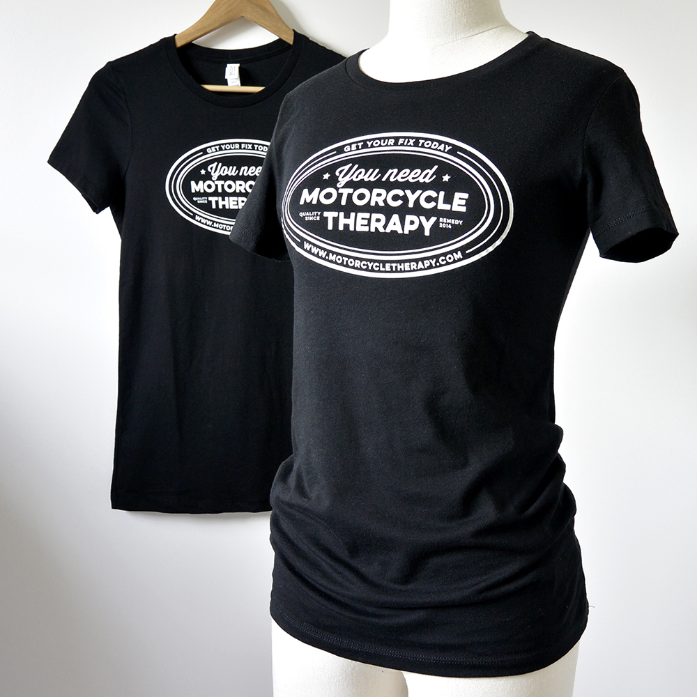 Motorcycle Therapy T-Shirt